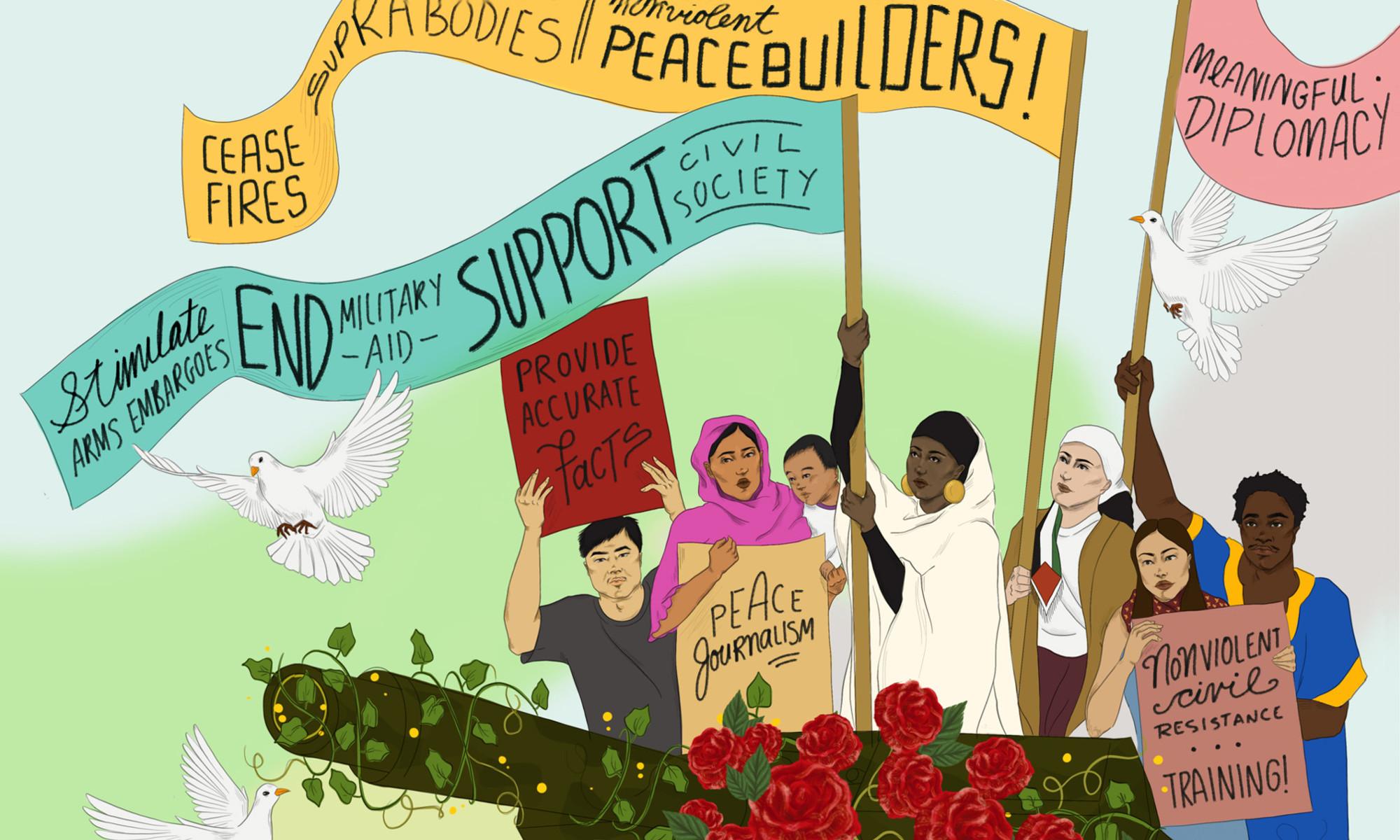# NoWar2021: désinvestir, désarmer, démilitariser - 1-6 juin 2021 - Ottawa